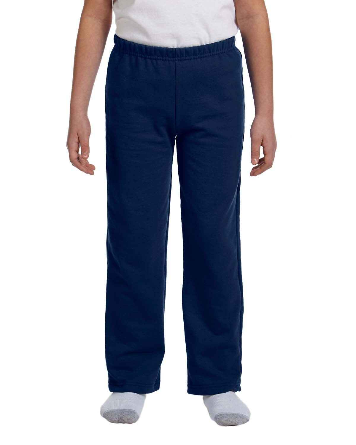 Youth Heavy Blend™ 8 oz. 50/50 Open-Bottom Sweatpants