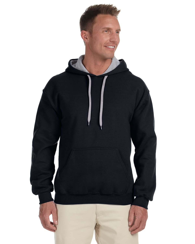 Adult Heavy Blend™ 8 oz. 50/50 Contrast Hood