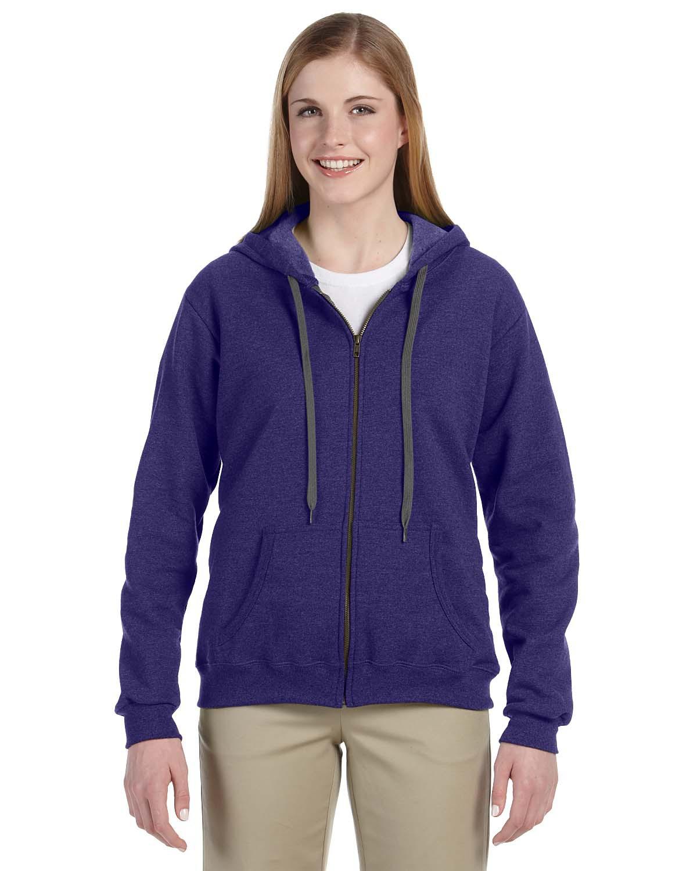 Ladies' Heavy Blend™ 8 oz. Vintage Classic Missy Fit Full-Zip Hood
