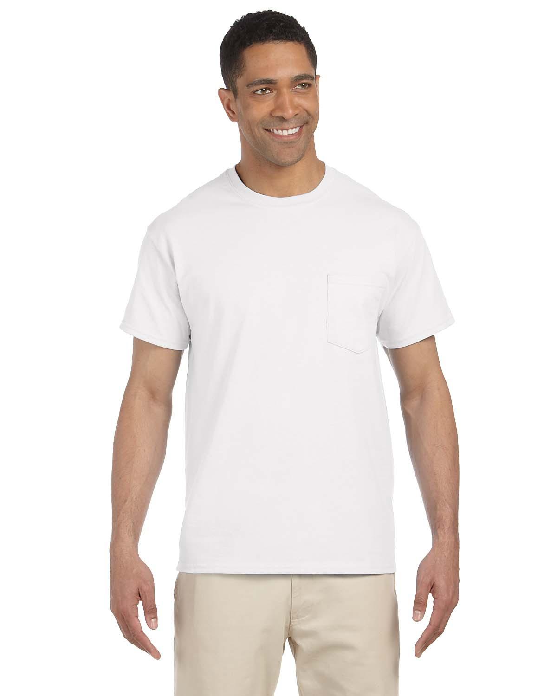 Adult Ultra Cotton® 6 oz. Pocket T-Shirt