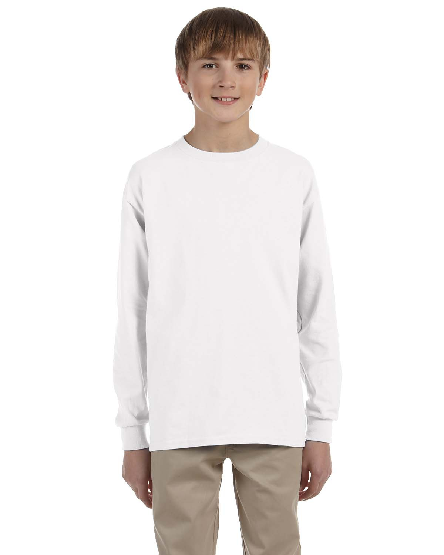 Youth Ultra Cotton® 6 oz. Long-Sleeve T-Shirt