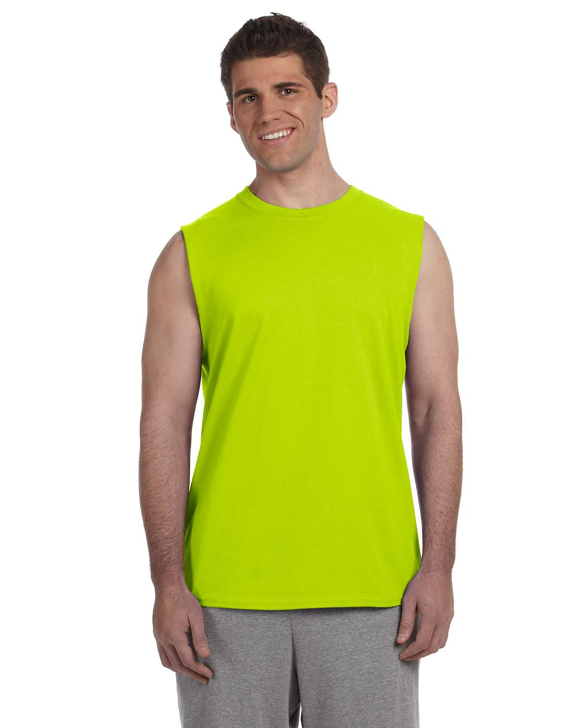 Gildan Style G270 Ultra Cotton 6 Oz Sleeveless T Shirt