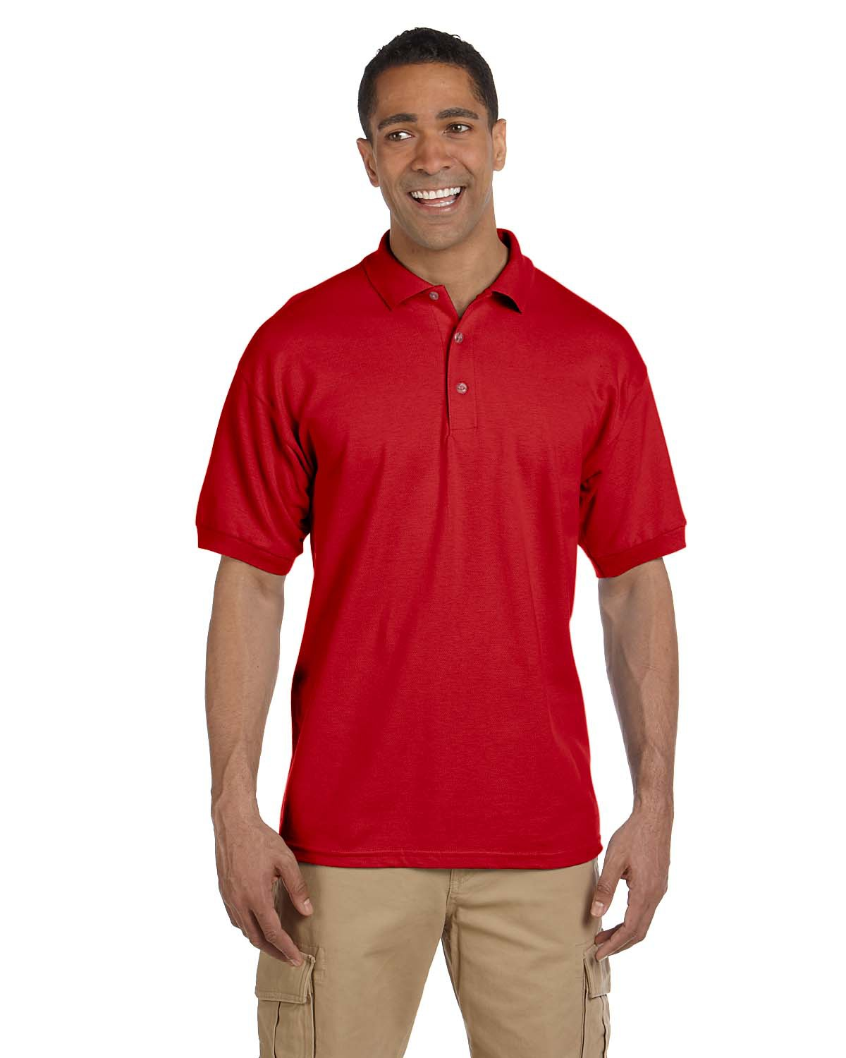 Adult Ultra Cotton® 6.3 oz. Pique Polo