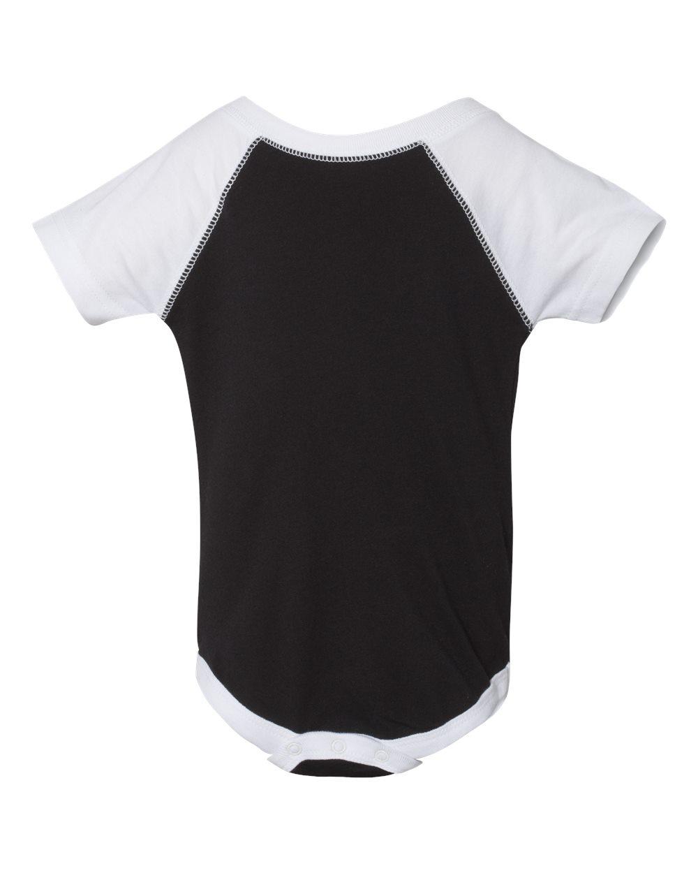 Infant Baseball Fine Jersey Bodysuit