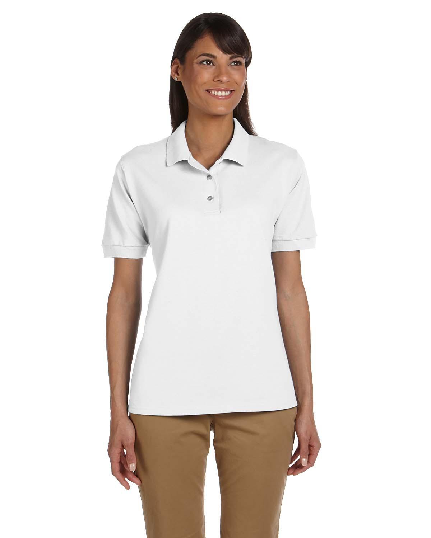 Ladies' Ultra Cotton® 6.3 oz. Piqué Polo