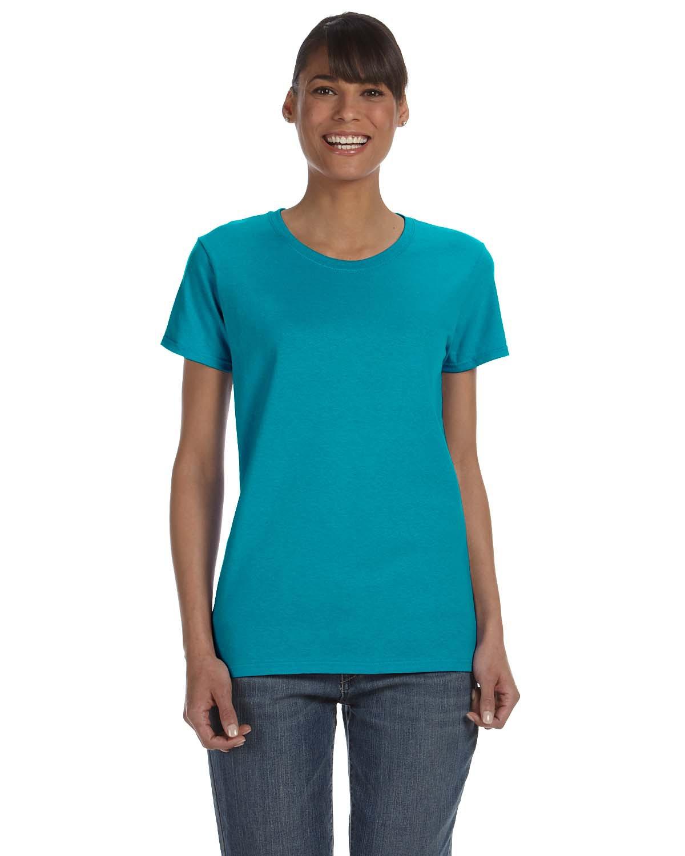Ladies' Cotton 5.3 oz. Missy Fit T-Shirt