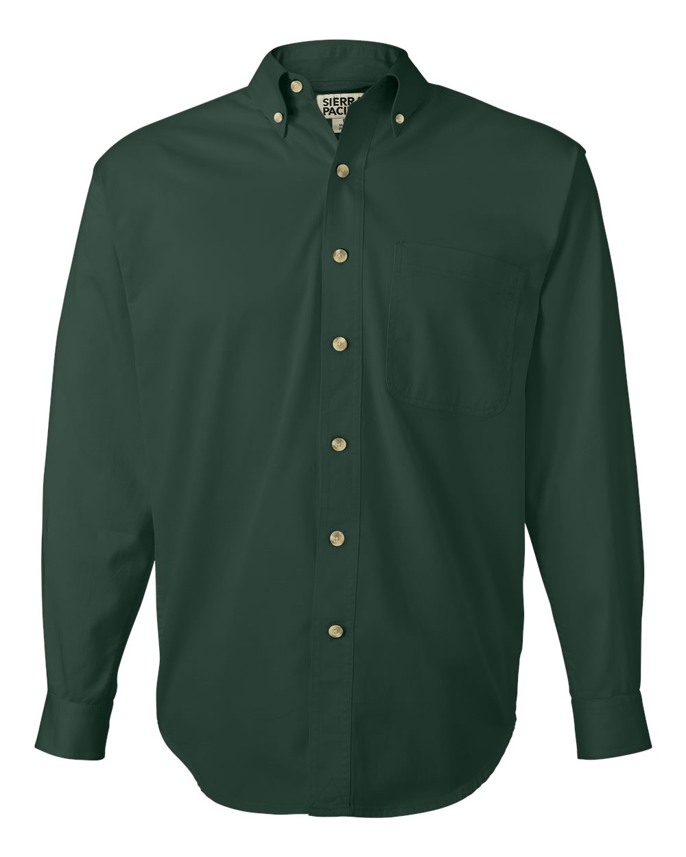 Long Sleeve Cotton Twill Shirt