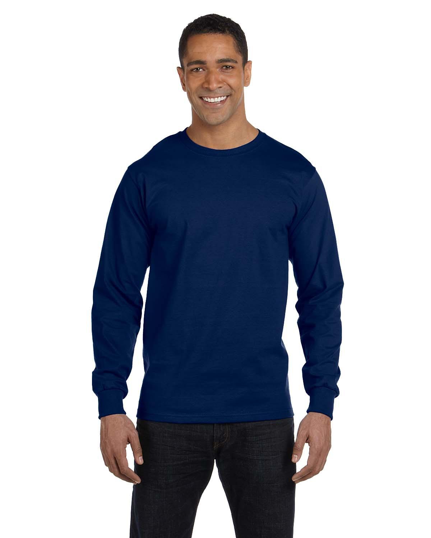 Adult DryBlend® 5.5 oz. 50/50 Long-Sleeve T-Shirt