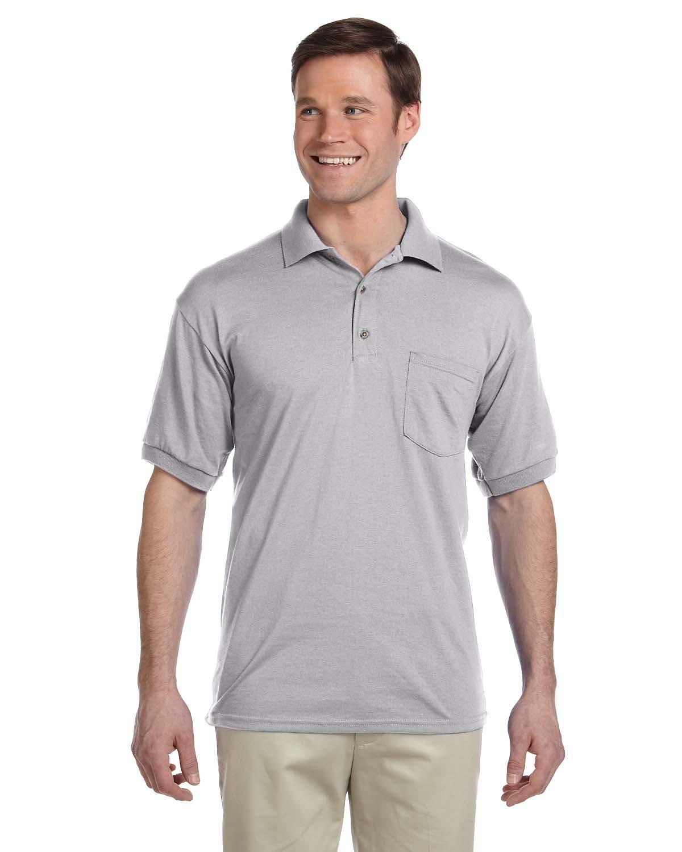 Adult DryBlend® 6 oz. 50/50 Jersey Polo with Pocket