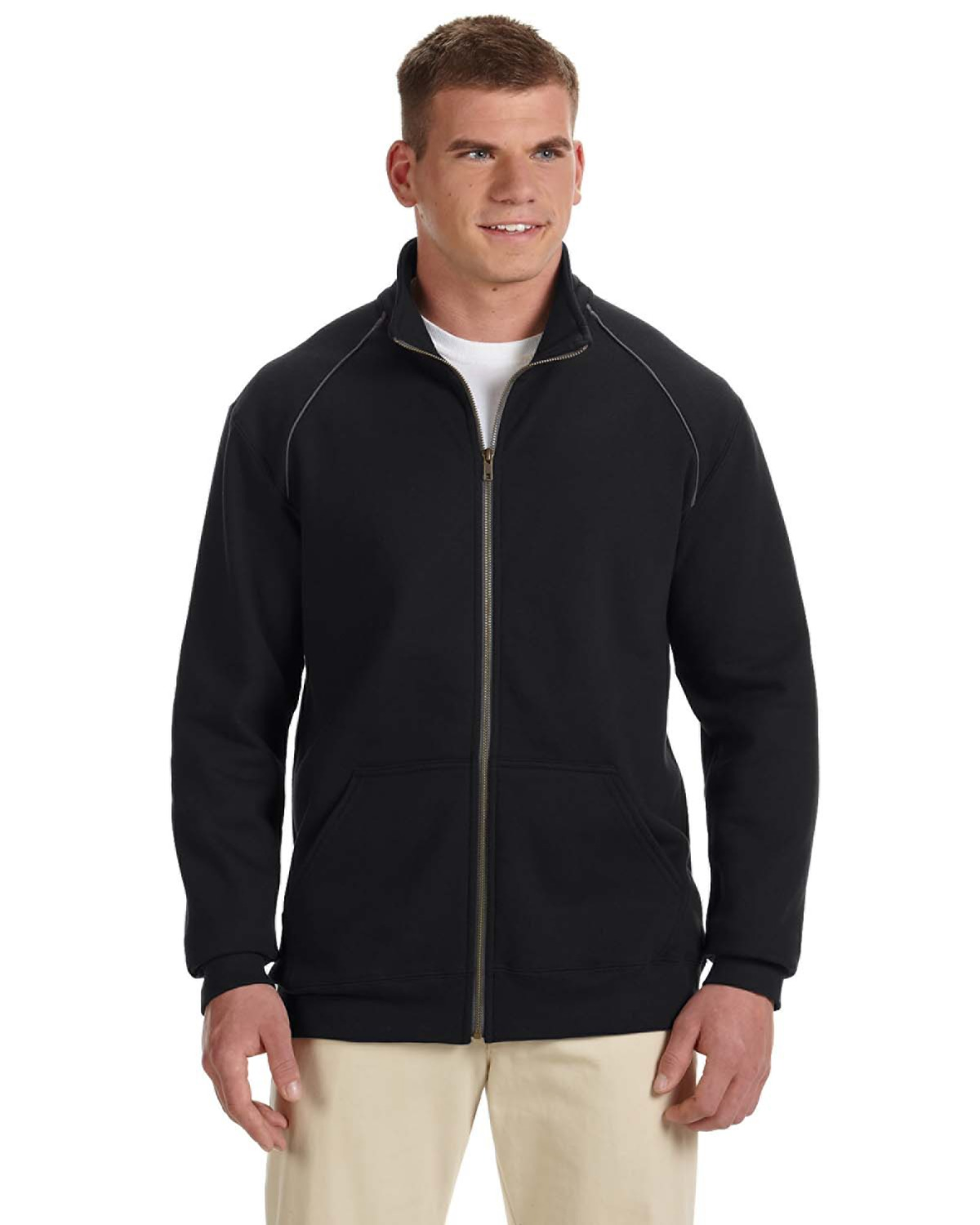 Adult Premium Cotton® 9 oz. Fleece Full-Zip Jacket