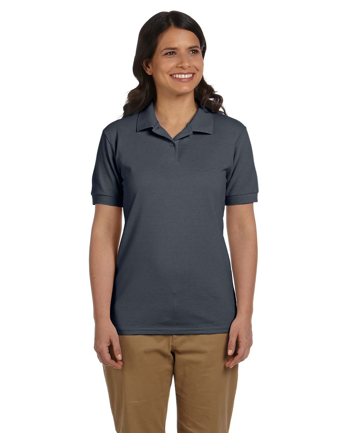 Ladies' DryBlend® 6.8 oz. Pique Polo