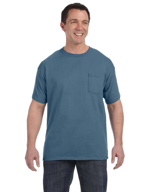 Men's 6.1 oz. Tagless® Pocket T-Shirt