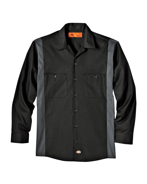 Unisex Tall Industrial Color Block Long-Sleeve Shirt