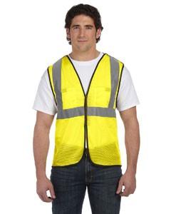 Men's High Visibility Value 5-pt. Break-Away Safety Mesh Vest