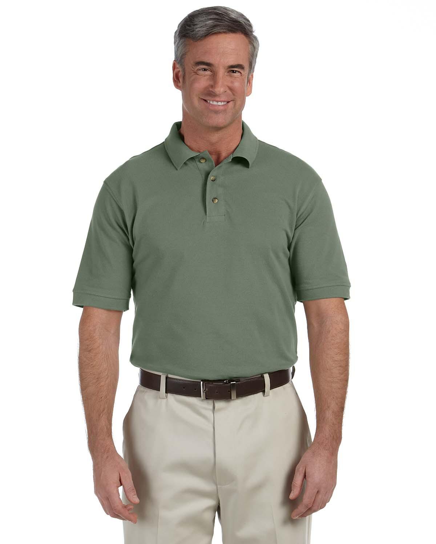 Men's 6 oz. Ringspun Cotton Pique Short-Sleeve Polo