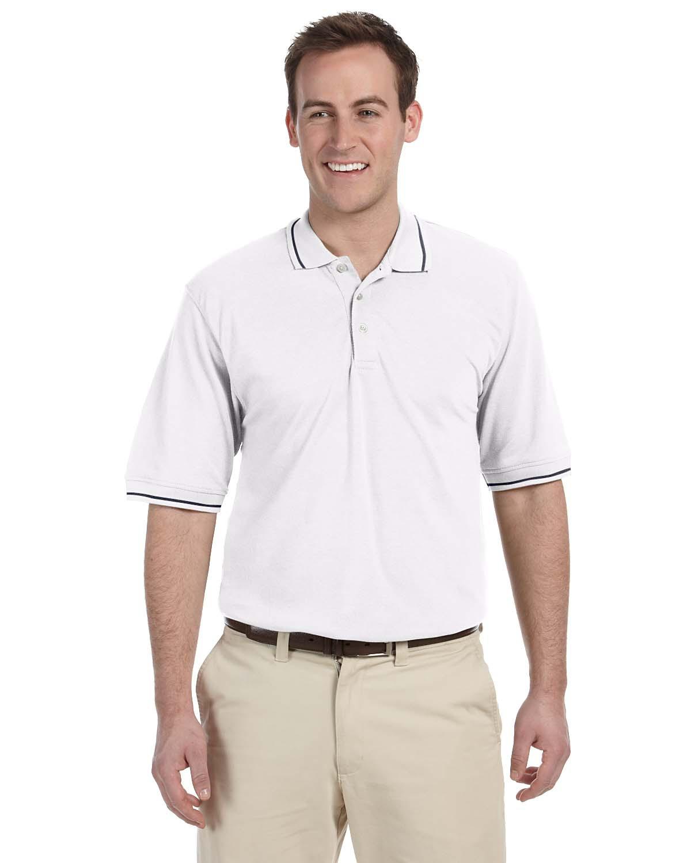 Men's 5.6 oz. Tipped Easy Blend™ Polo