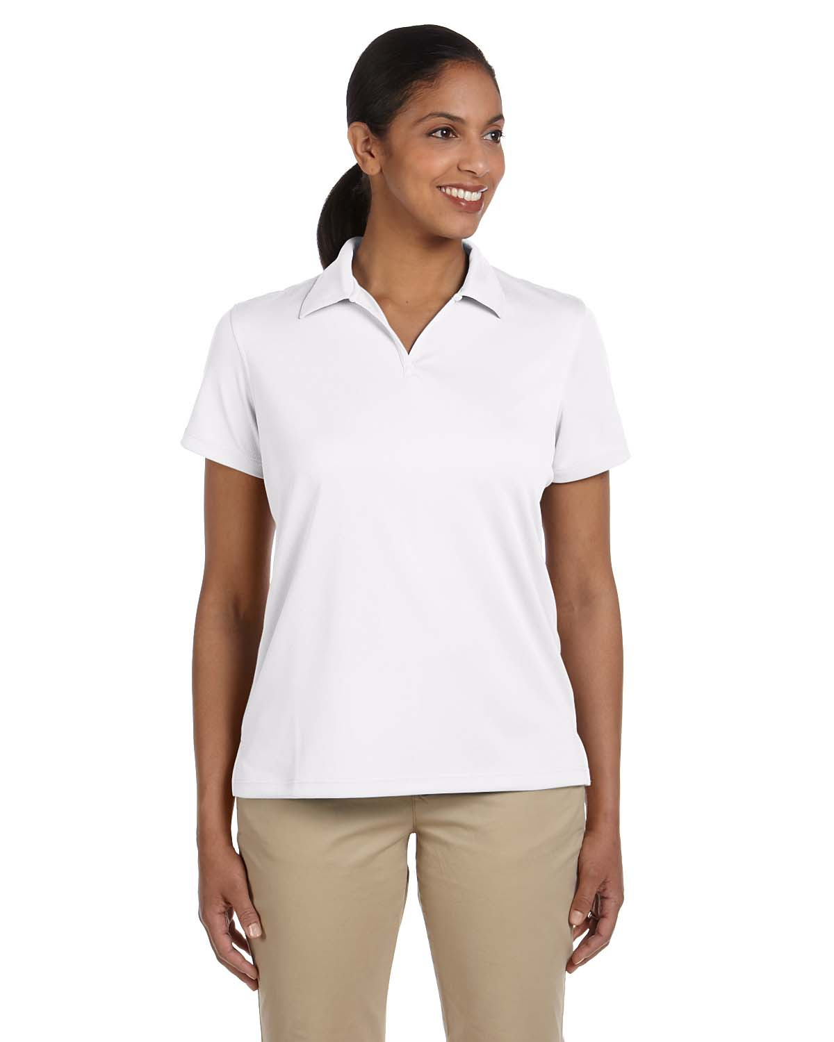 Ladies' Double Mesh Polo