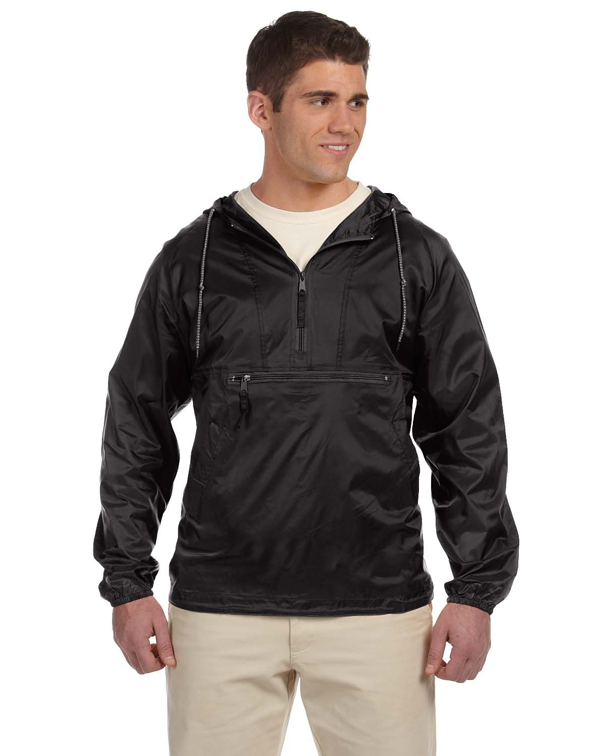 Harriton M750 Adult Packable Nylon Jacket