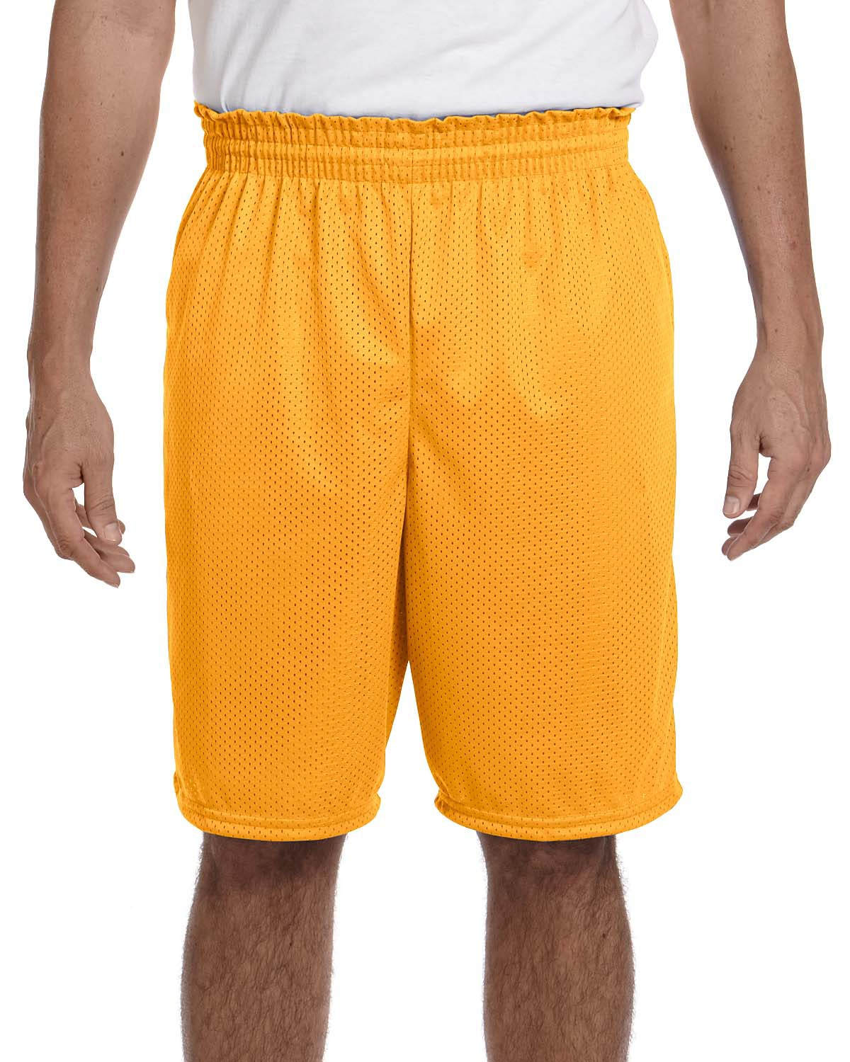 """Adult Tricot Mesh/Tricot-Lined 9"""" Short"""