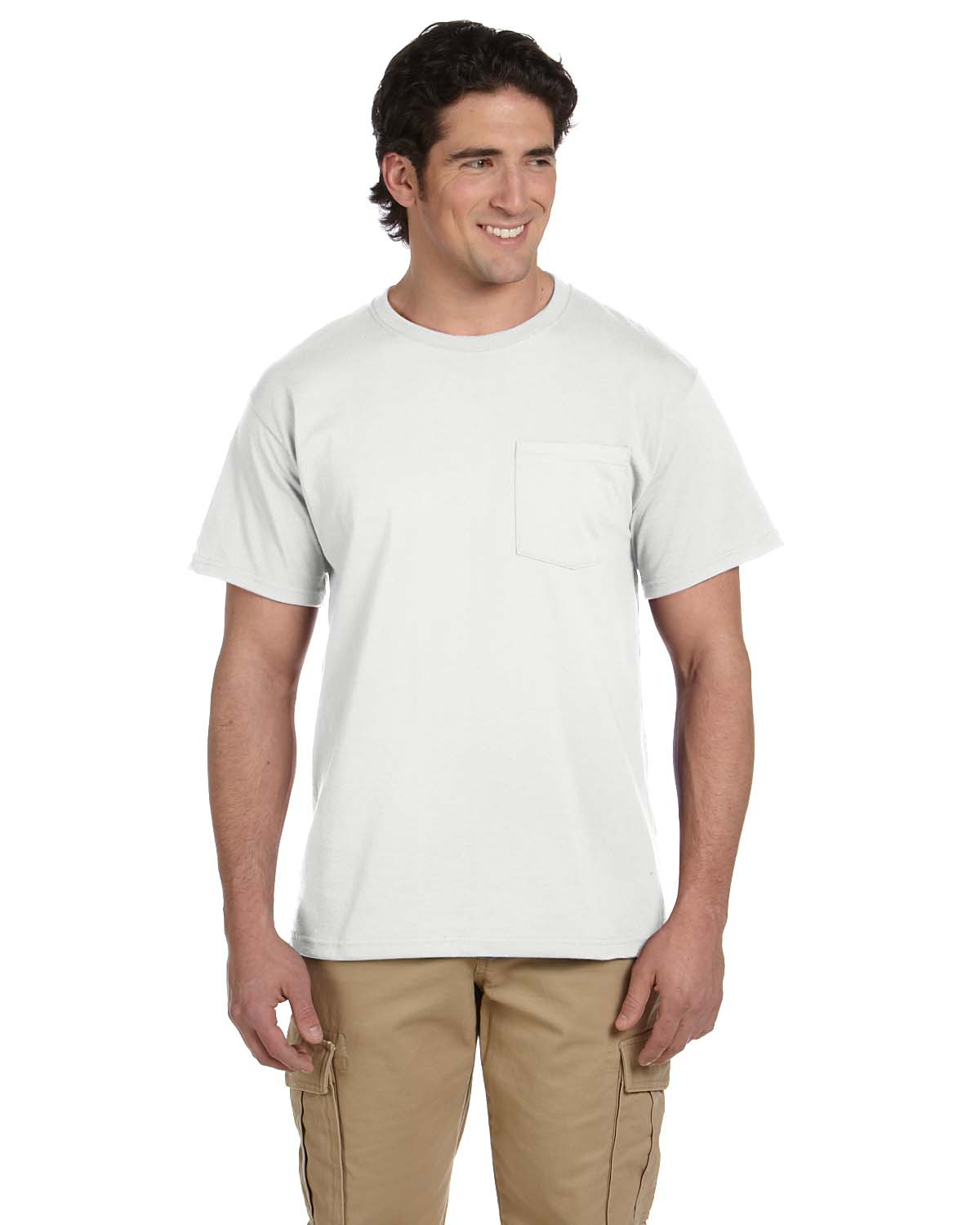 Adult 5.6 oz. DRI-POWER® ACTIVE Pocket T-Shirt