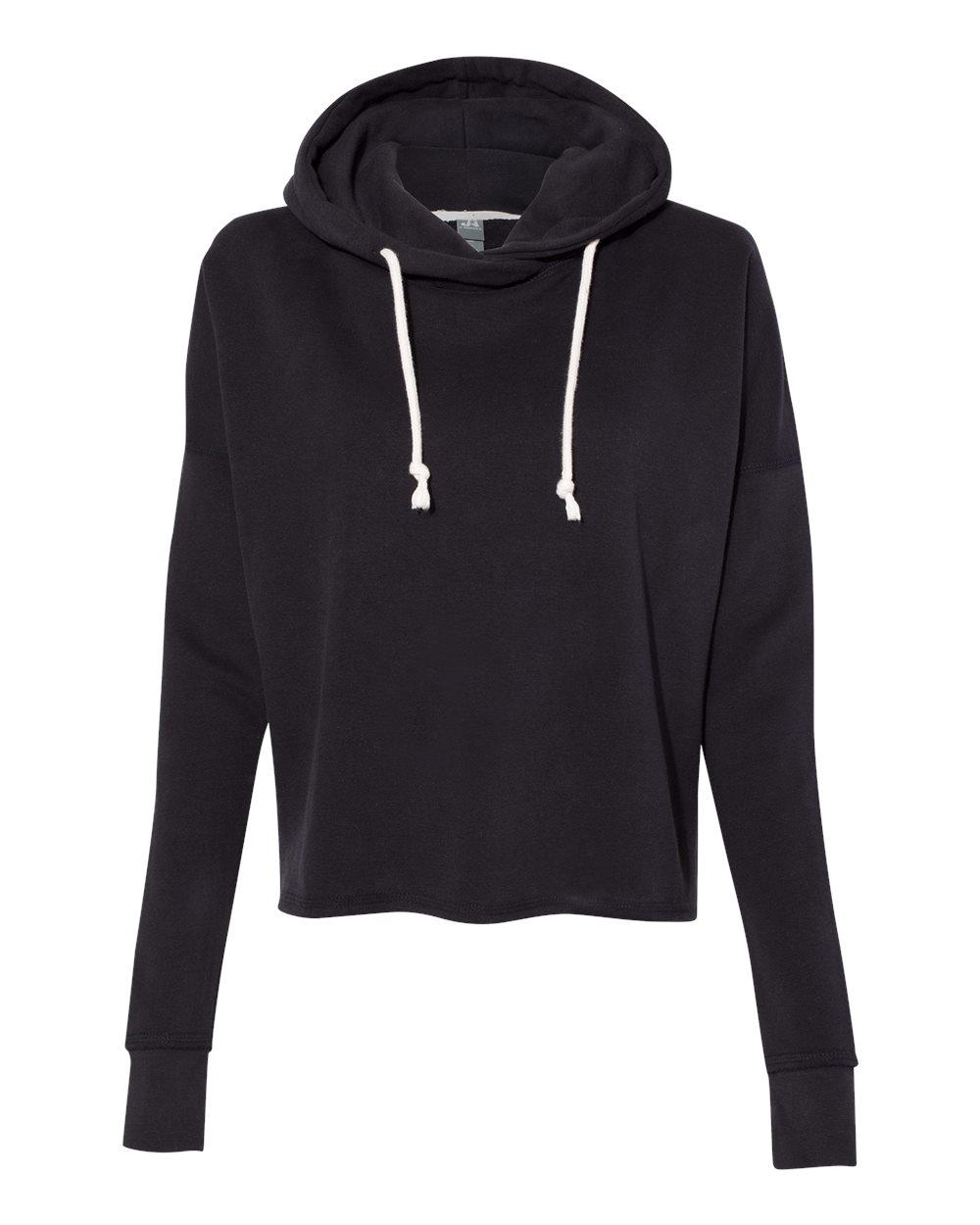 Women's Lounge Fleece Hi-Low Hooded Pullover