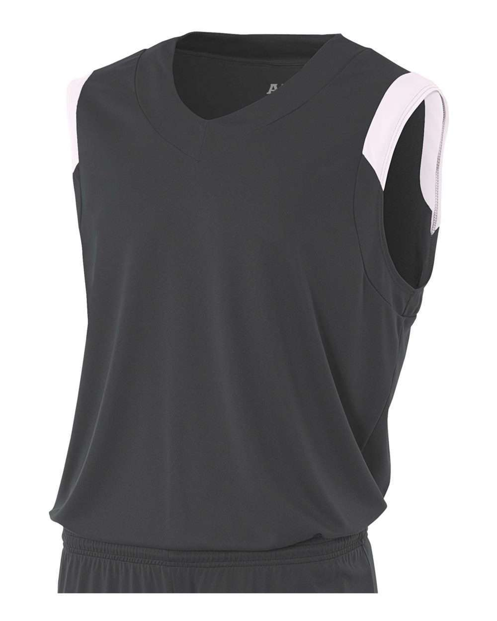 Youth Moisture Management V Neck Muscle Shirt