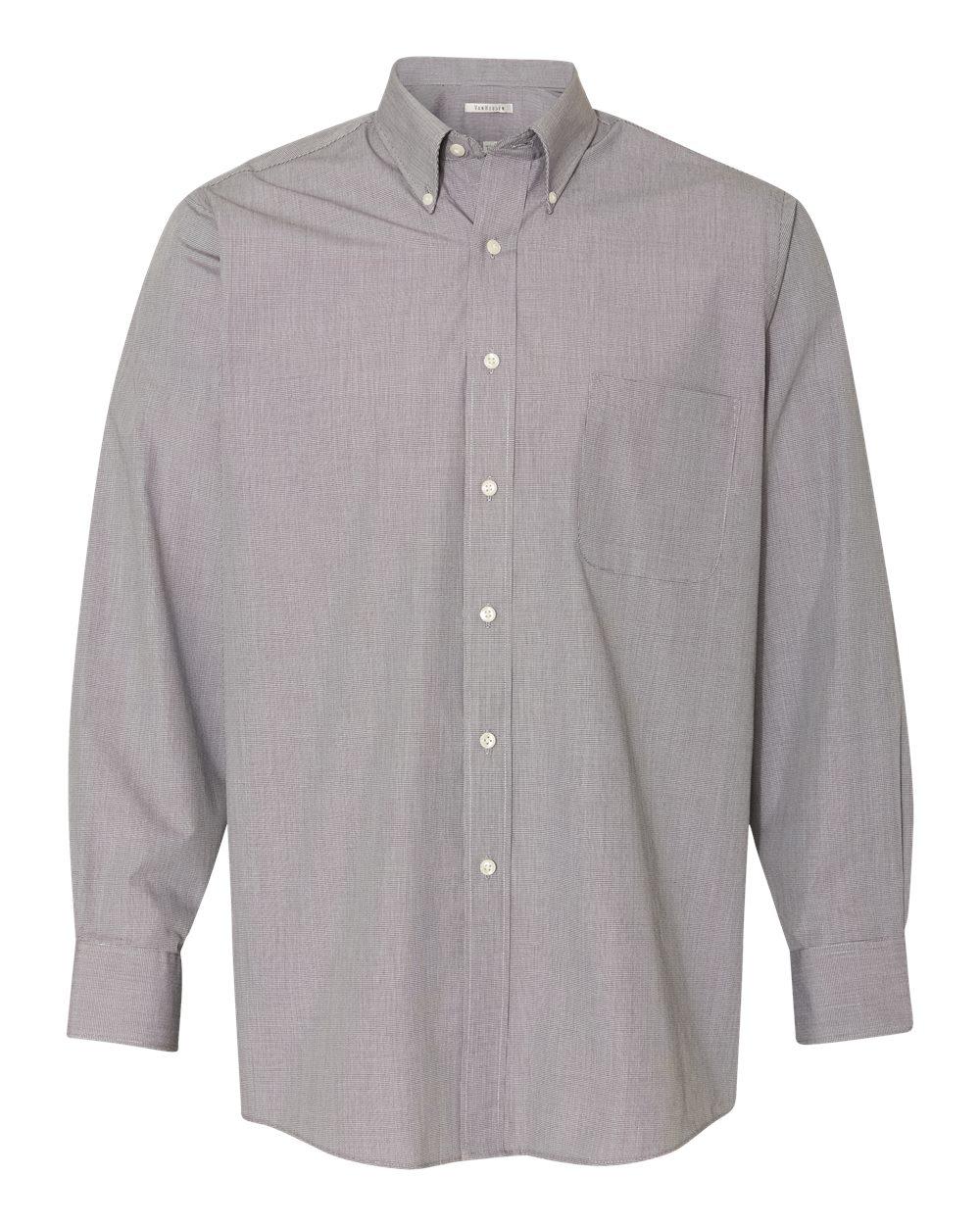 Yarn Dyed Mini Check Long Sleeve Shirt