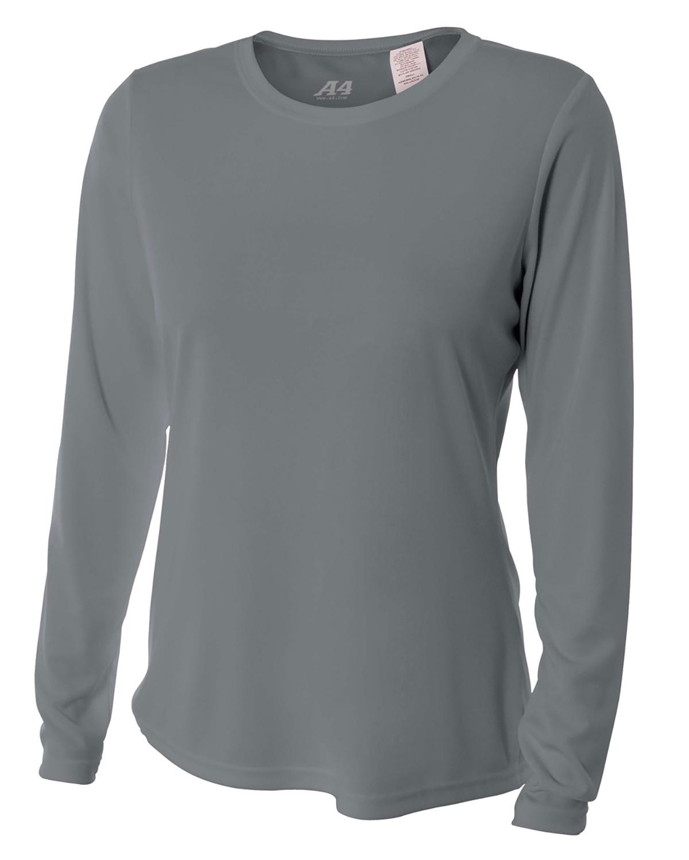 Ladies' Long Sleeve Cooling Performance Crew Shirt