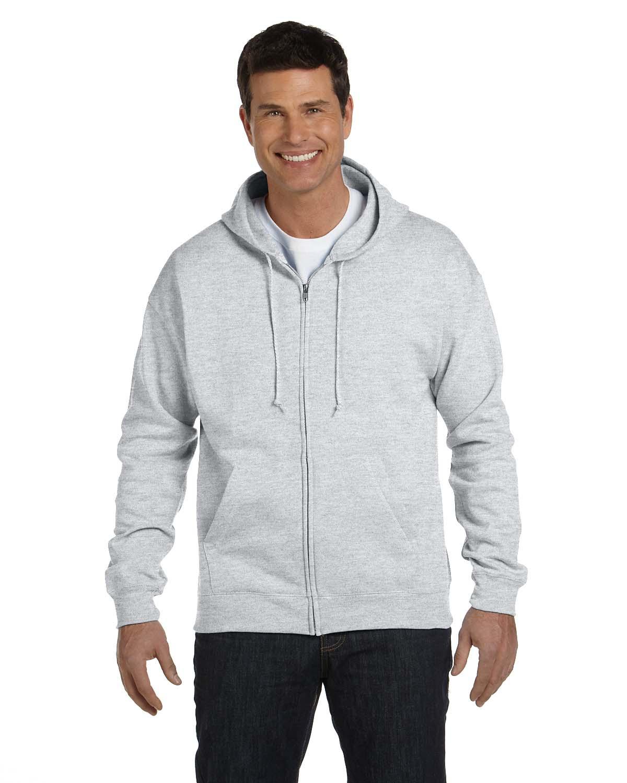 Adult 7.8 oz. EcoSmart® 50/50 Full-Zip Hood