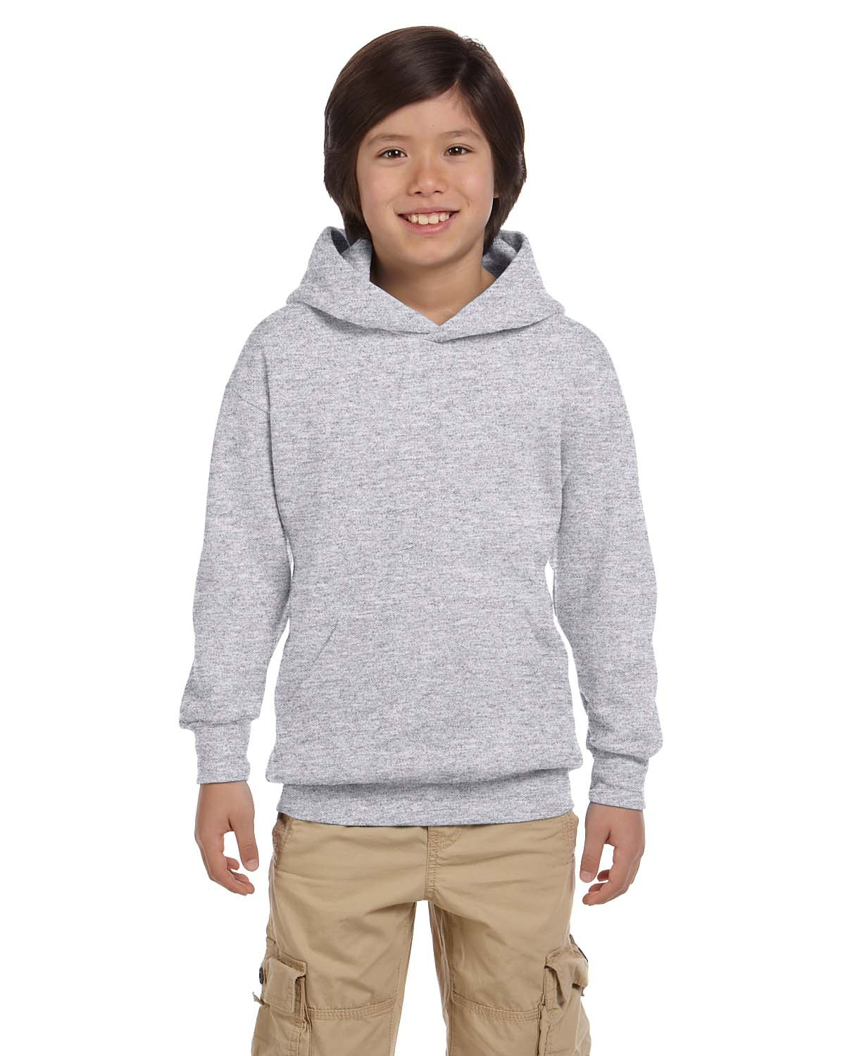 Youth 7.8 oz. EcoSmart® 50/50 Pullover Hood
