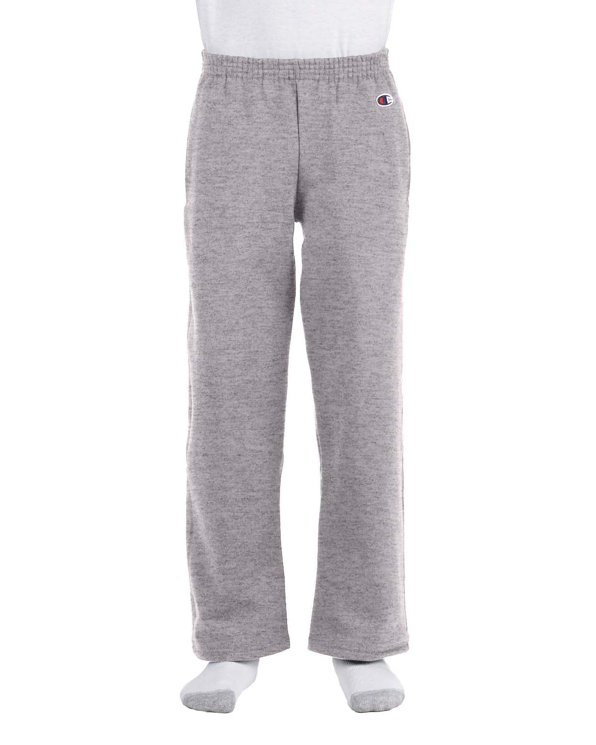 Youth 9 oz. Double Dry Eco® Open-Bottom Fleece Pant