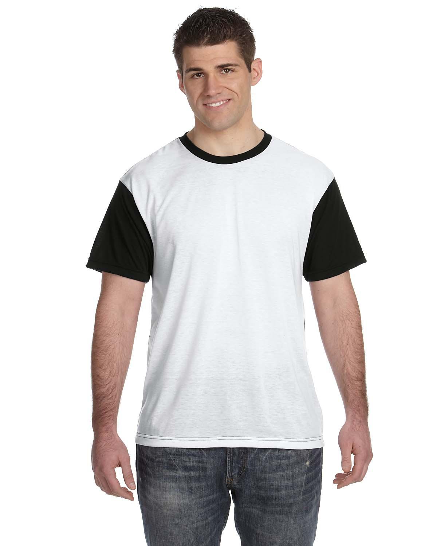 Men's Blackout Sublimation Polyester T-Shirt