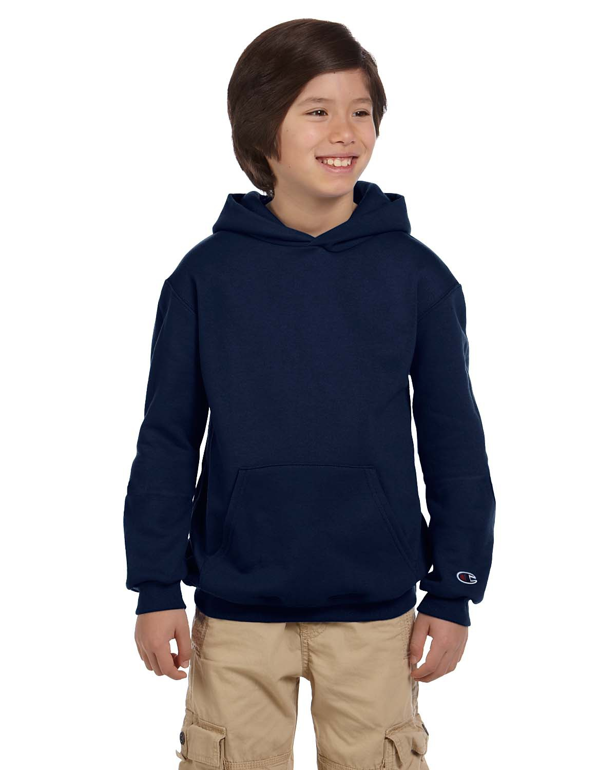 Champion S790 Youth Double Dry Eco Pullover Hood