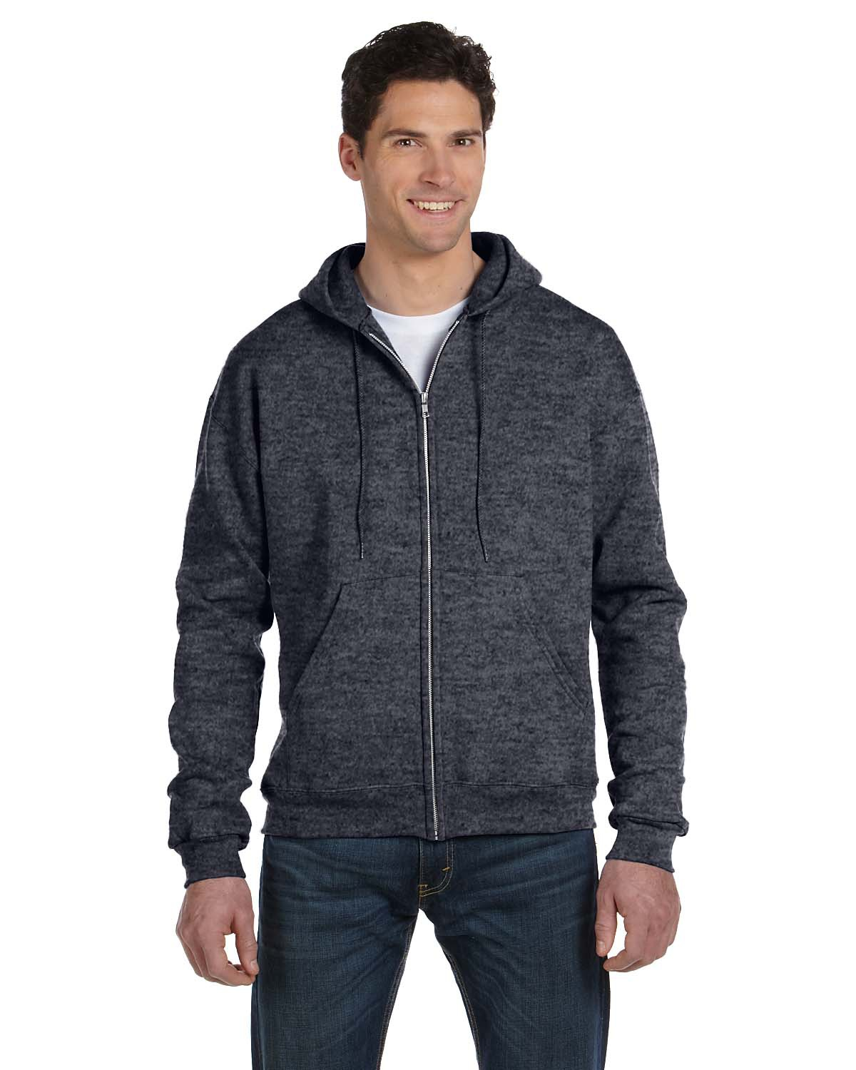 Adult 9 oz. Double Dry Eco® Full-Zip Hood