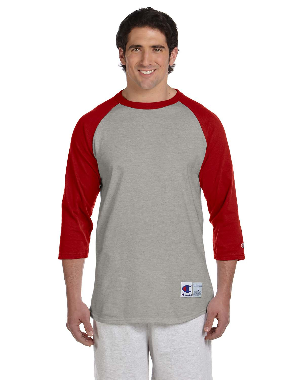 b2f9ec27 Champion Style T1397 5.2 oz. Tagless Raglan Baseball T-Shirt
