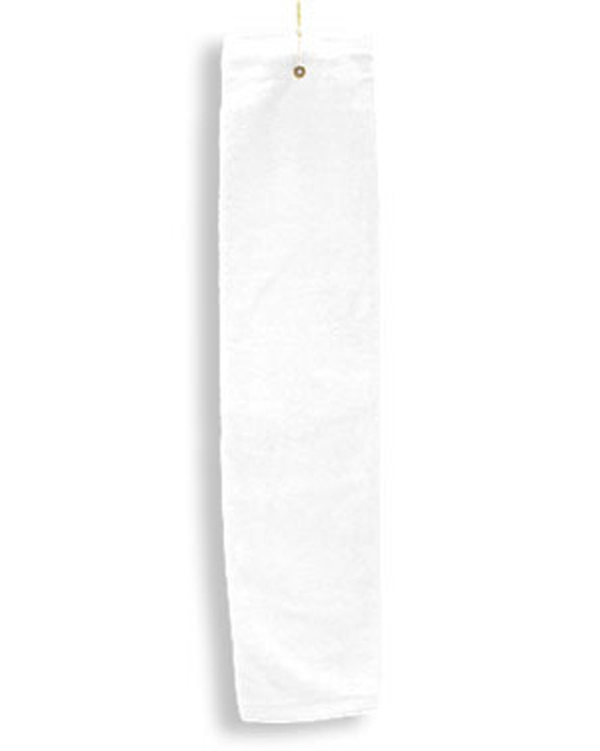 Deluxe Tri-Fold Hemmed Hand Towel With Center Grommet and Hook