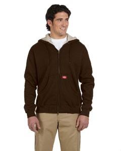 10.75 oz. Bonded Waffle-Knit Hooded Jacket