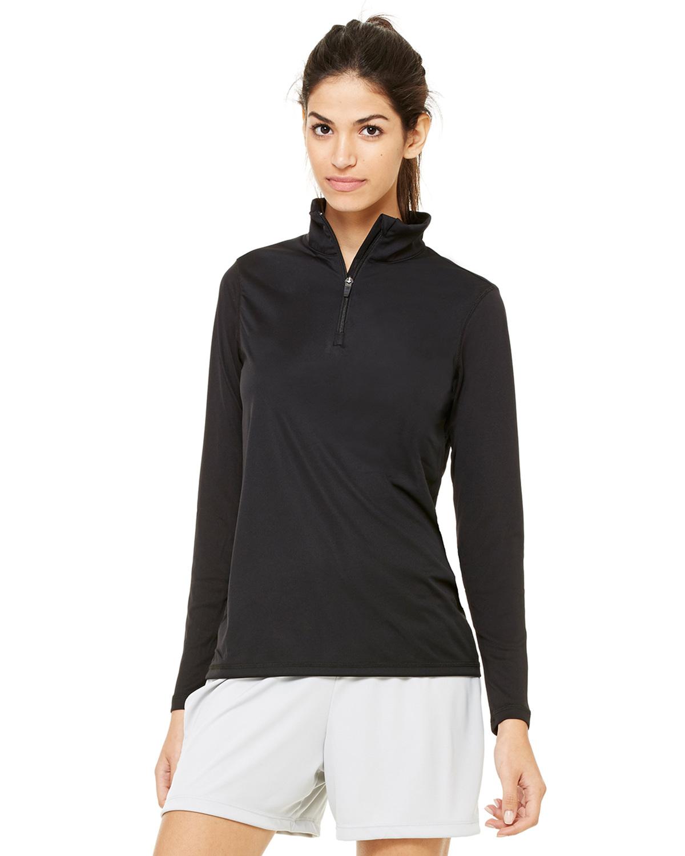 Ladies' Quarter-Zip Lightweight Pullover