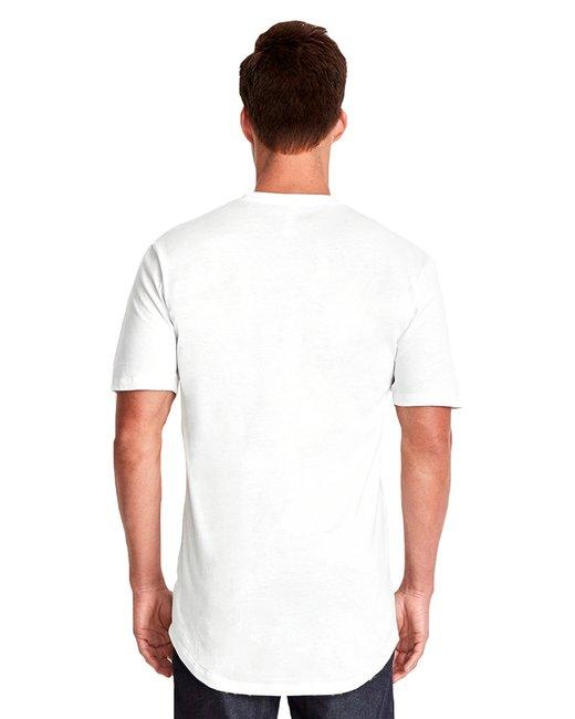 Men's Cotton Long Body Crew