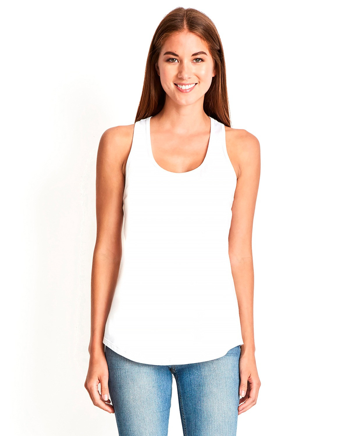 Ladies' Gathered Racerback Tank