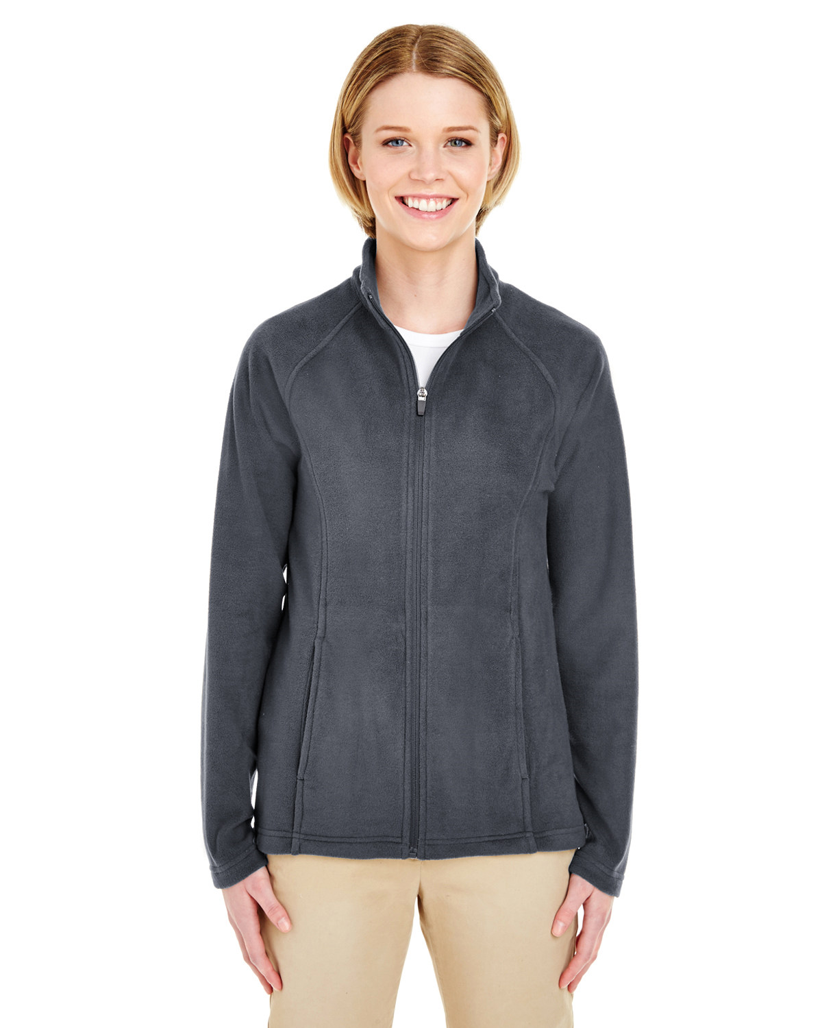 Ladies' Cool & Dry Full-Zip Microfleece