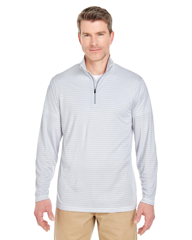 Adult Striped Quarter-Zip Pullover
