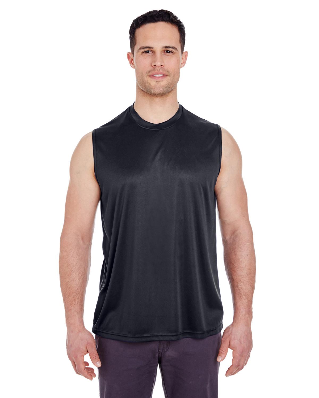 Adult Cool & Dry Sport Performance Interlock Sleeveless T-Shirt