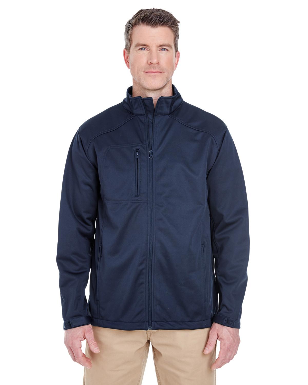 Men's Solid Soft Shell Jacket