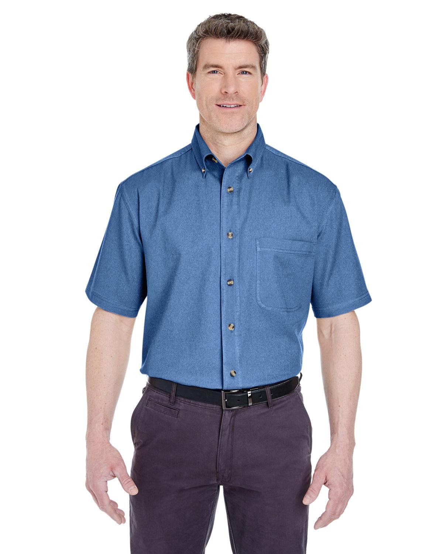 Adult Short-Sleeve Cypress Denim with Pocket