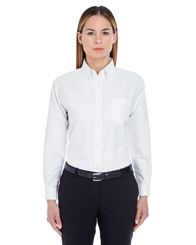 Ladies' Classic Wrinkle-Resistant Long-Sleeve Oxford