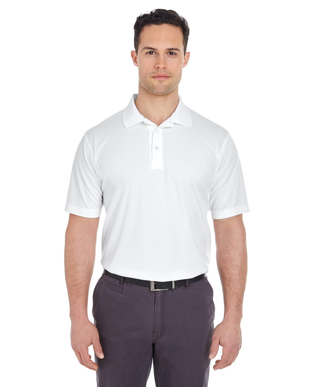 Men's Tall Cool & Dry Mesh Piqué Polo