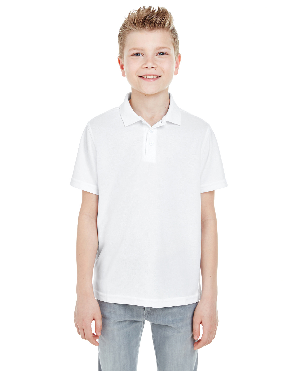 Youth Cool & Dry Mesh Piqué Polo