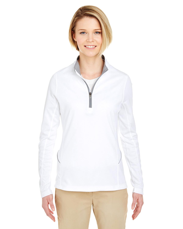 Ladies' Cool & Dry Sport Quarter-Zip Pullover
