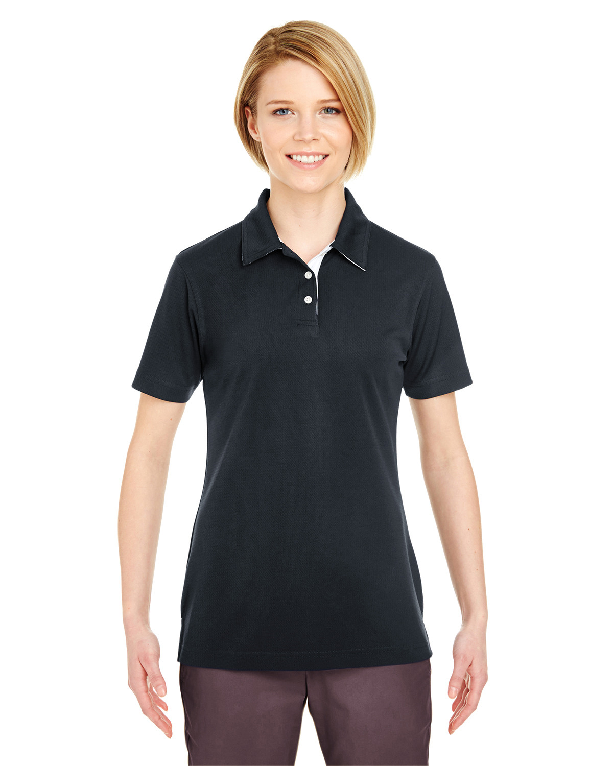 Ladies' Platinum Performance Birdseye Polo with TempControl Technology